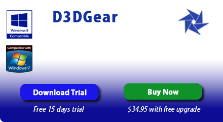 D3DGear - Game Recording Software, Video Game Recorder